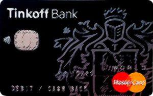 Карта Тинькоф Банка черная